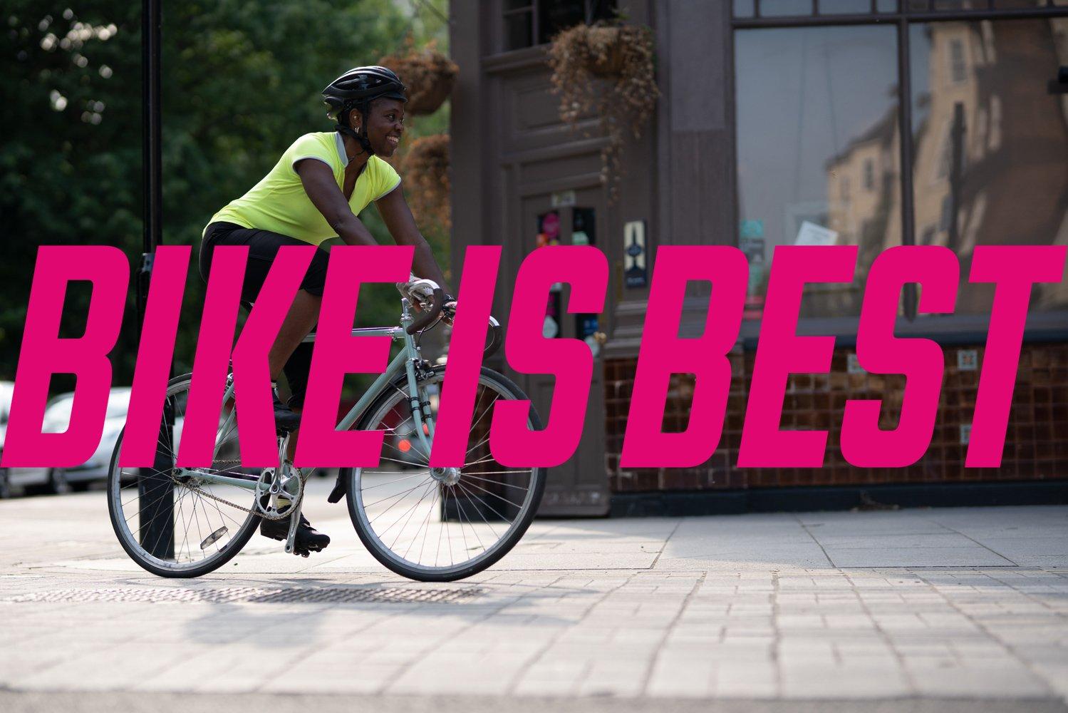 #BikeIsBest