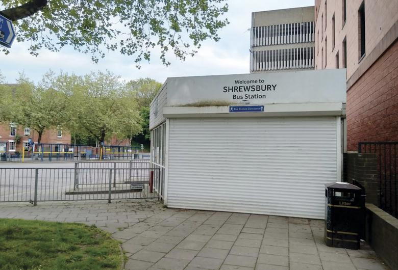 Shrewsbury bus station